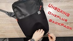 OnePlus Travel Backpack Rewiew - Space Black -The UnboxBros Fin - OnePlus Reppu