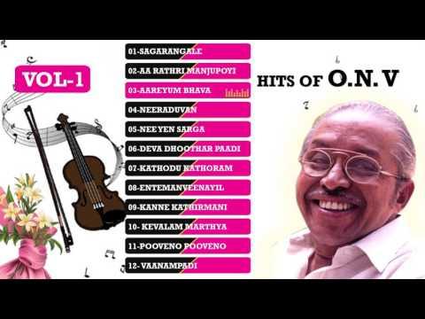 Hit Malayalm songs | O N V Hit songs | Evergreen Hits of ONV Kurup