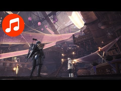 MONSTER HUNTER WORLD Music 🎵 Extended Research Base Theme (MHW Soundtrack | OST) thumbnail