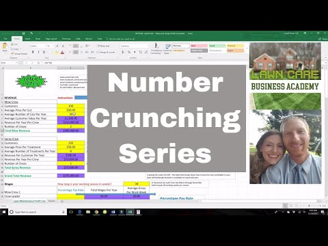 Looking at Wages | Paying Employees | Number Crunching Series by Lawn Crack