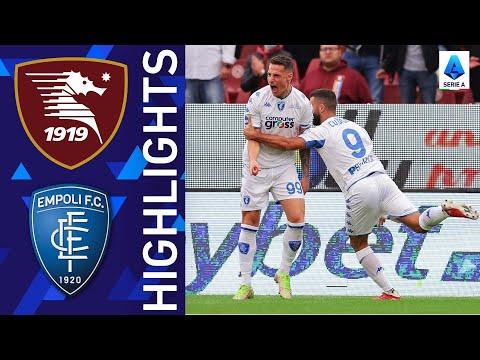 Salernitana Empoli Goals And Highlights
