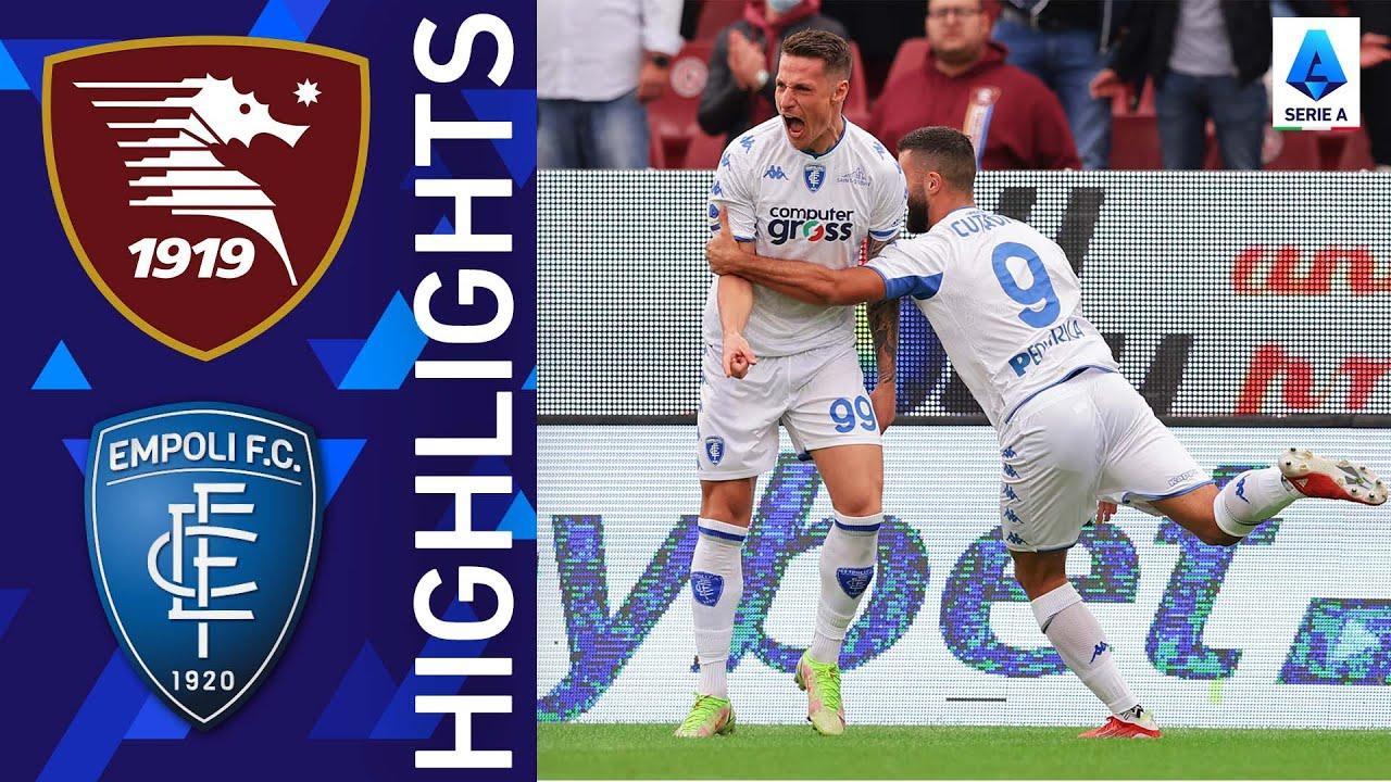 Download Salernitana 2-4 Empoli | A goal fest at the Arechi | Serie A 2021/22