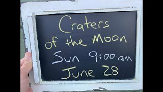 'Nick From Home' Livestream #75 - Craters of the Moon