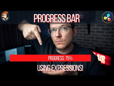 Progress Bar! - An Introduction To Expressions In Davinci Resolve 16