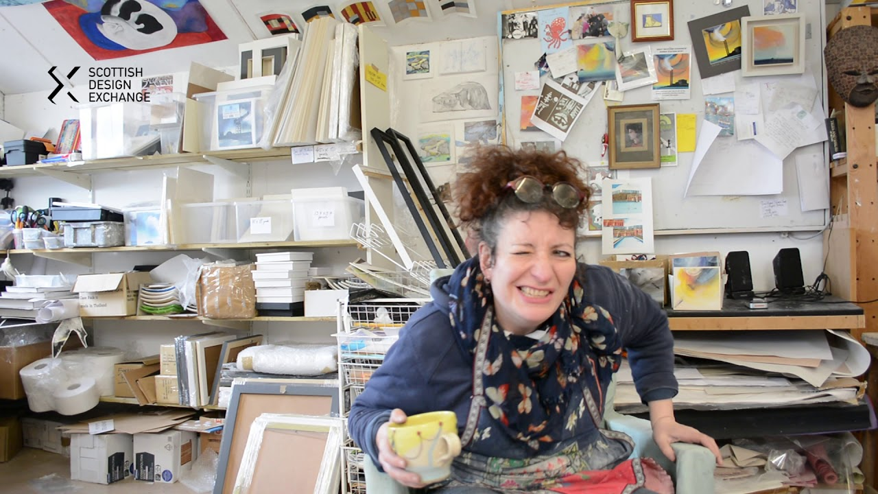 Meet The Artist - Esther Cohen - Scottish Design Exchange