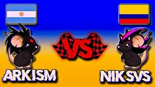 TRANSFORMICE | Arkism vs Niksvs | RACING