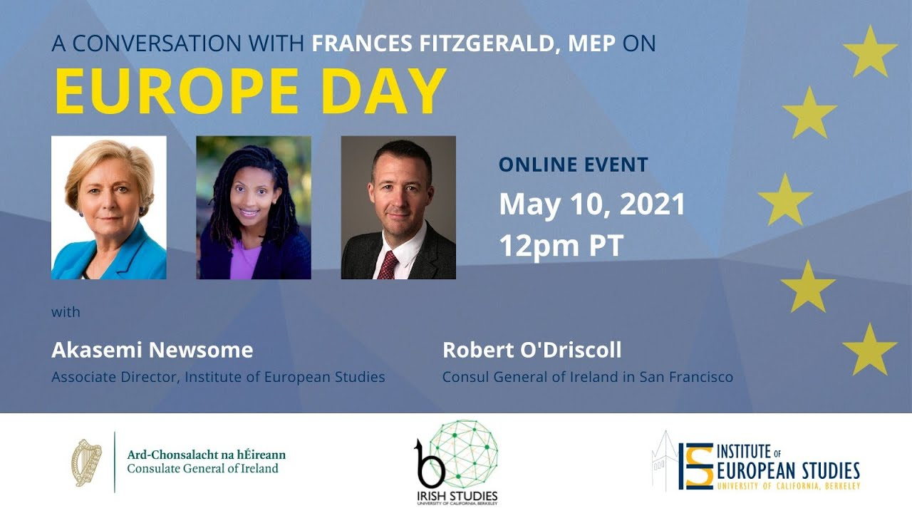 Europe Day 2021: A Conversation with MEP Frances Fitzgerald and UC Berkeley