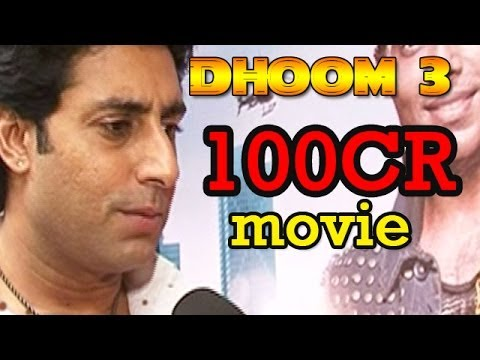 Dhoom 3 : Movie will cross 100Cr in 3 days - Abhishek Bachchan