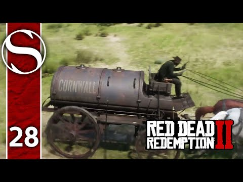 STEALING AN OIL TANKER - Red Dead Redemption 2 - Red Dead Redemption 2 Gameplay Part 28