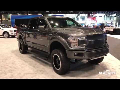 2018 ford f150 shelby walk around chicago auto show 2018