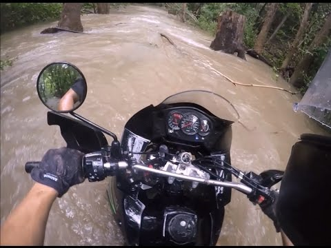 NEW MOTORCYCLE DROWNS !!!