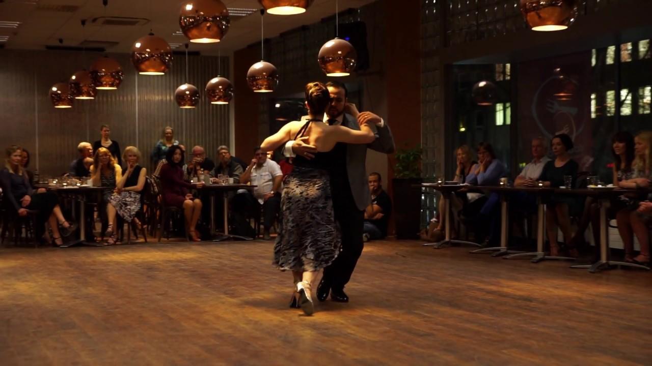 Malena martos y john zabala 1 3 mi tango triste milonga for A puro tango salon canning