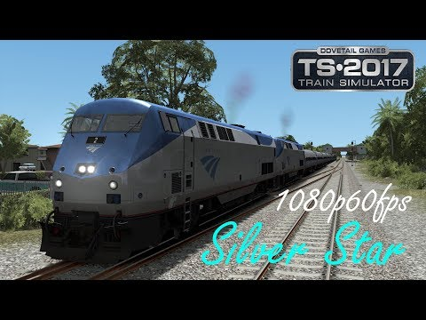 First Silver Star - Miami  : Train Simulator 2017 1080p60fps