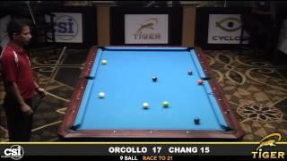 CSI Presents the Tiger Challenge: Orcollo vs Chang Pt. 3