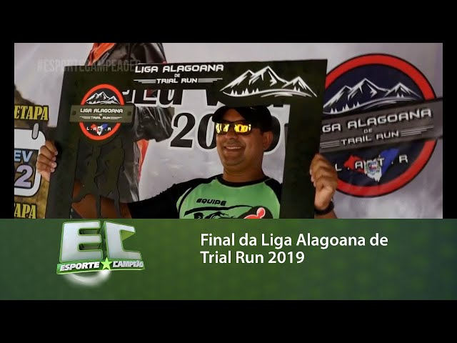 Final da Liga Alagoana de Trial Run 2019