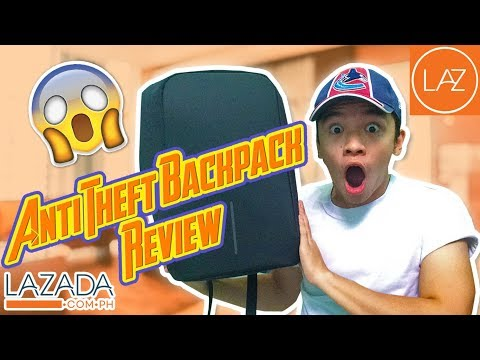 ANTI THEFT BACKPACK REVIEW (XD Design) | Lazada Philippines