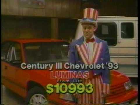 Century Iii Chevrolet Full Commercial Mpg Youtube