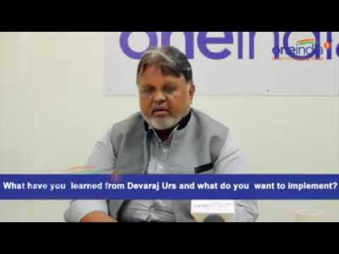 Lessons Learnt from Devaraj Urs