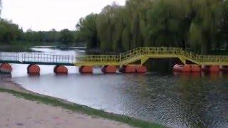 АПРЕЛЬСКАЯ ТИХАЯ СОСНА   - г. Алексеевка 2016 год(кадры видео съемки красивой реки