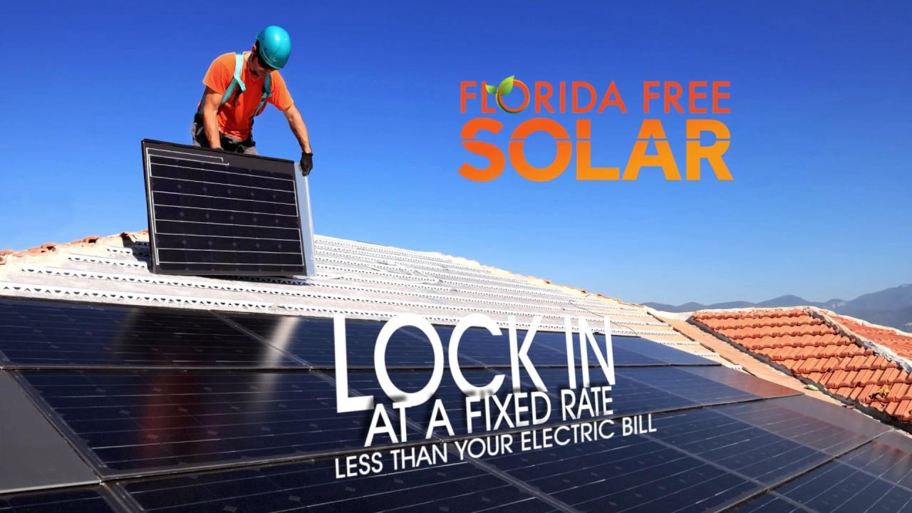 0 down solar florida free solar solar panels youtube