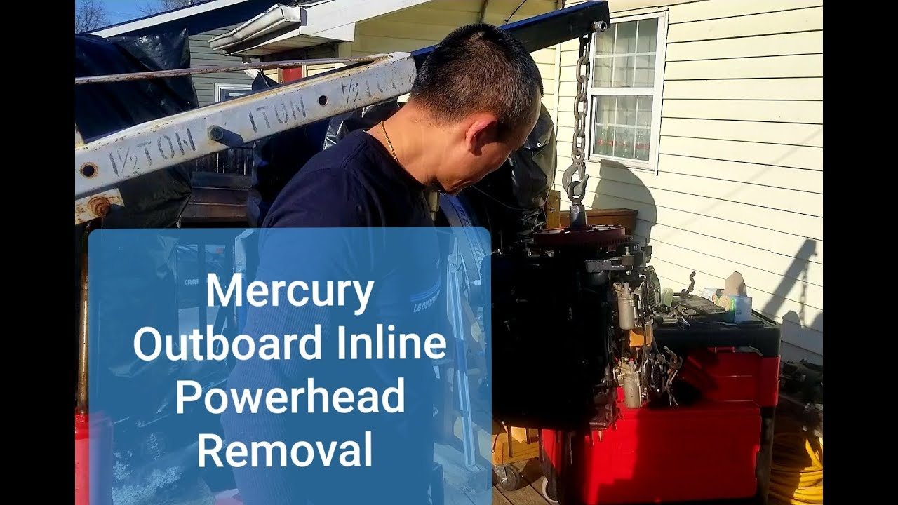 Mercury Outboard Powerhead Removal: 6 Easy Steps