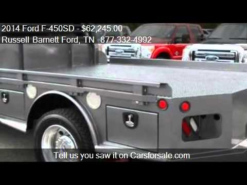 Russell Barnett Ford >> 2014 Ford F 450sd Lariat At Russell Barnett Ford For Sale In Winchester Tn 931 967 2277