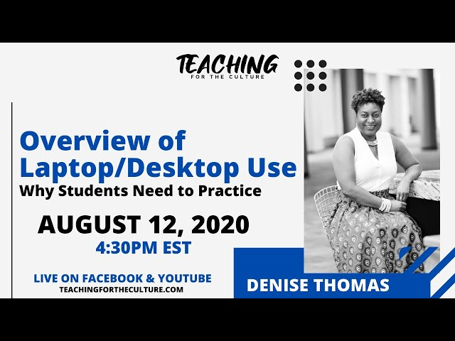 Overview of Laptop/Desktop Use