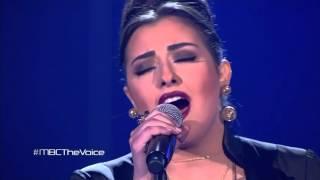 #MBCTheVoice - كريستين سعيد - Adagio+ حبيبي- مرحلة العروض المباشرة
