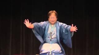 桂七福の「人権高座」(2012年11月30日、大阪)
