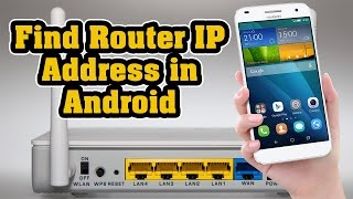 Video How to Find Router IP Address in Android Iphone or Ipad download MP3, 3GP, MP4, WEBM, AVI, FLV Mei 2018