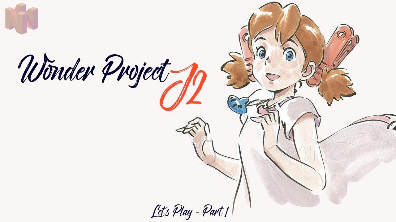 Let's Play Wonder Project J2 (ENG) N64 - Part 1: A Book A Day