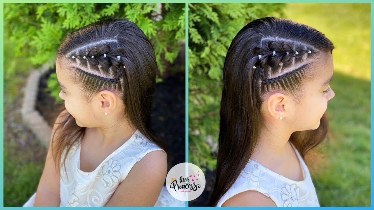 Diferentes versiones peinados faciles y rapidos Imagen De Tendencias De Color De Pelo - PEINADO PARA NIÑAS CON TRENZA PULLTROUGH LATERAL ...