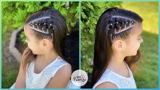 Peinado de trenzas para niña
