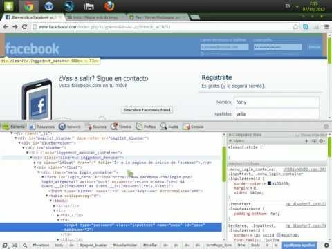 Como ver las contraseñas de Facebook Guardadas (Google Chrome) Sin descargar nada