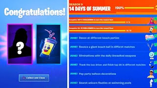 The New FREE ITEMS in Fortnite.. (100% UNLOCKED)