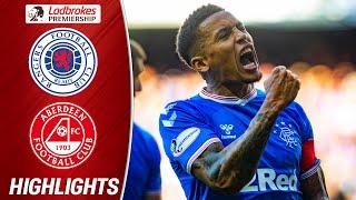 Rangers 5-0 Aberdeen | Tavernier's Penalties & Stewarts' Goal Seal the Deal | Ladbrokes Premiership