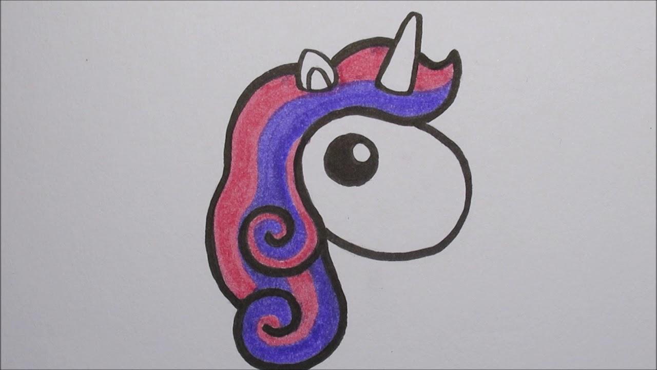 zo teken je een baby unicorn how to draw a baby unicorn