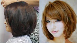 haircut tutorial change shape face ซอยผมตัดผมเพื่อเปลี่ยนรูปทรงหน้า