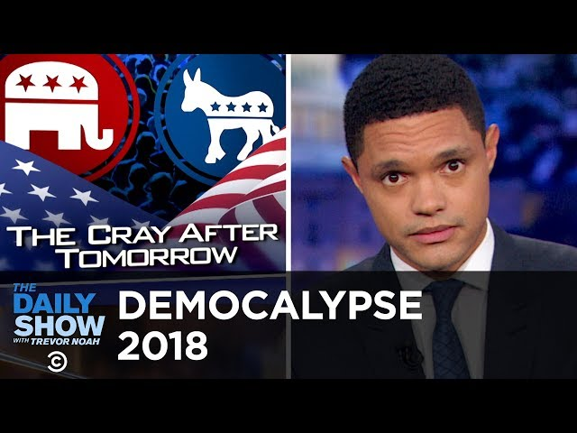 The Midterms Bring Out Celebs, Early Voters and Holograms | The Daily Show