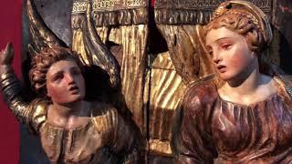 El Museo de Escultura expone el retablo de Berruguete