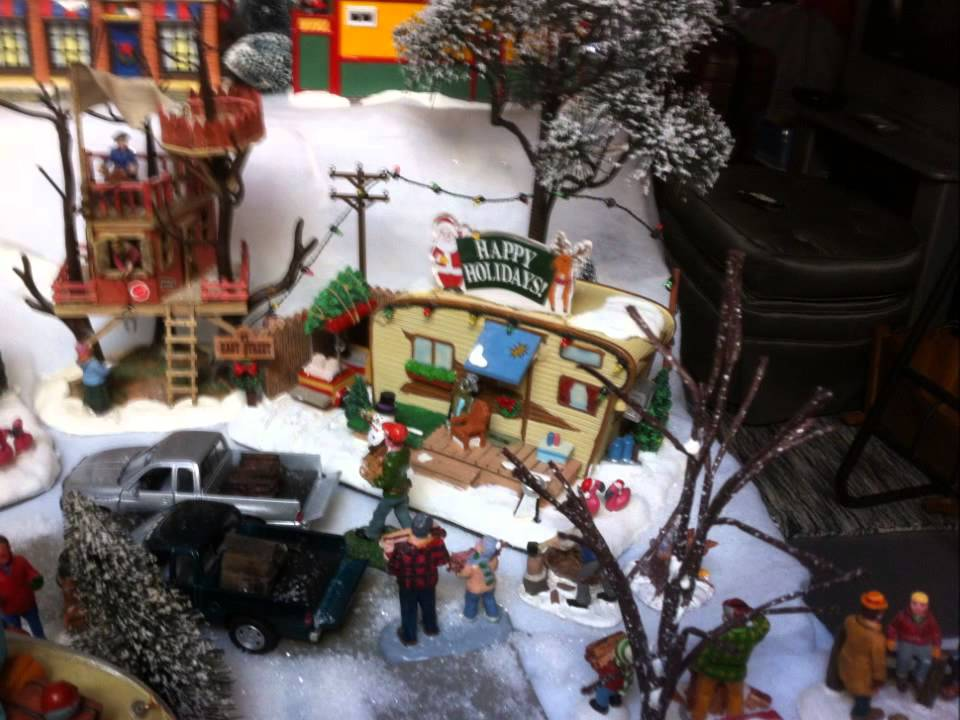 2014 Trailer Park Christmas Village - YouTube