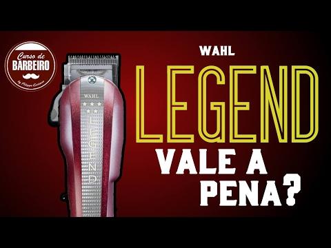 Análise WAHL LEGEND - Curso de Barbeiros
