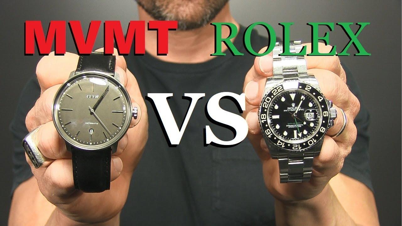 5 ways mvmt watches are better than rolex youtube for Watches better than rolex