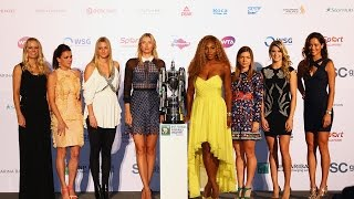 WTA Live   2014 BNP Paribas WTA Finals presented by SC Global Draw Ceremony