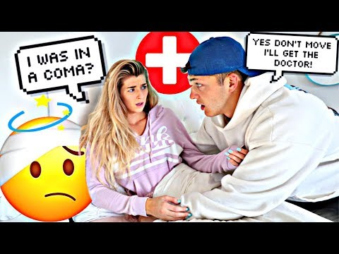 Convincing My Fiance She Was In A Coma PRANK!