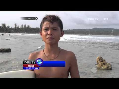Berselancar Wisata Nias, Sumatera Utara - NET5