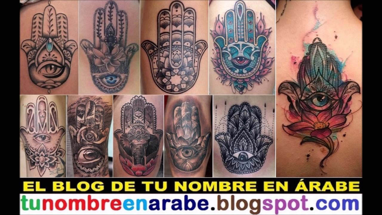 La Mano De Fatima Tatuaje Youtube