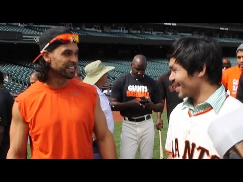 Angel Pagan loves Manny Pacquiao