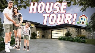 OUR LONG AWAITED HOUSE TOUR!!!