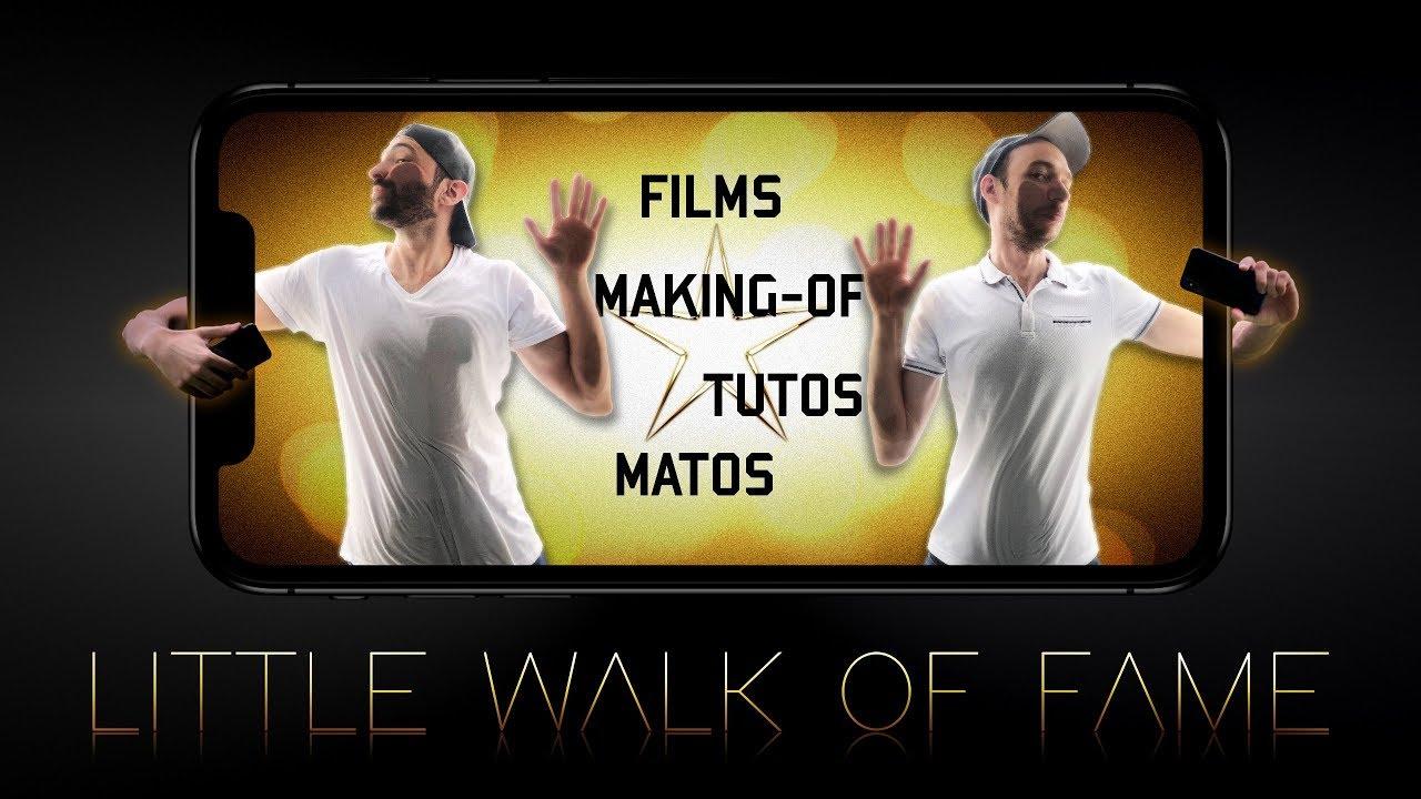 Little Walk Of Fame - Faire des vidéos avec un iPhone (Tournage, Montage, etc)